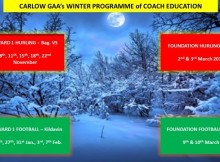 Winter Programme Coach Ed. 2017,2018