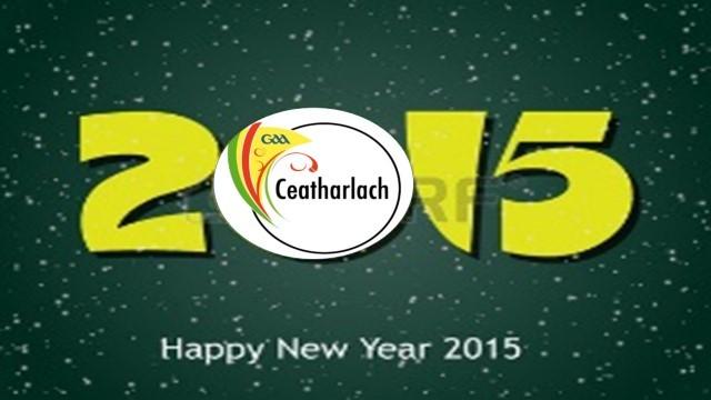 Happy New Year from Carlow GAA