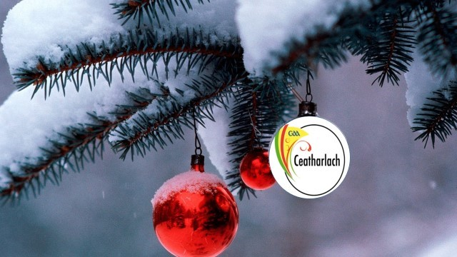 Happy Christmas from Carlow GAA