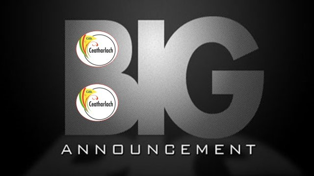 Big announcement planned for 5pm today
