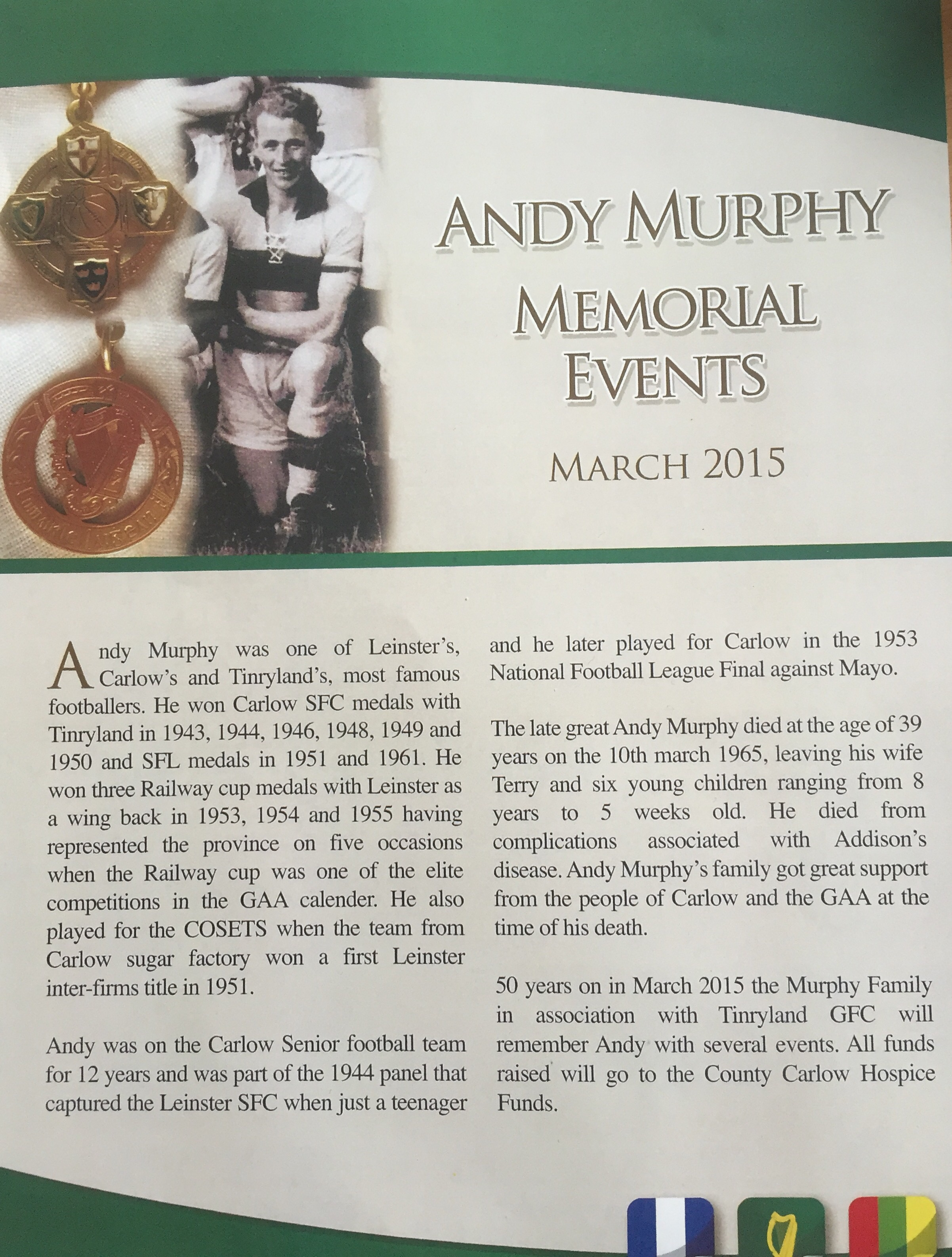 Andy Murphy Memorial