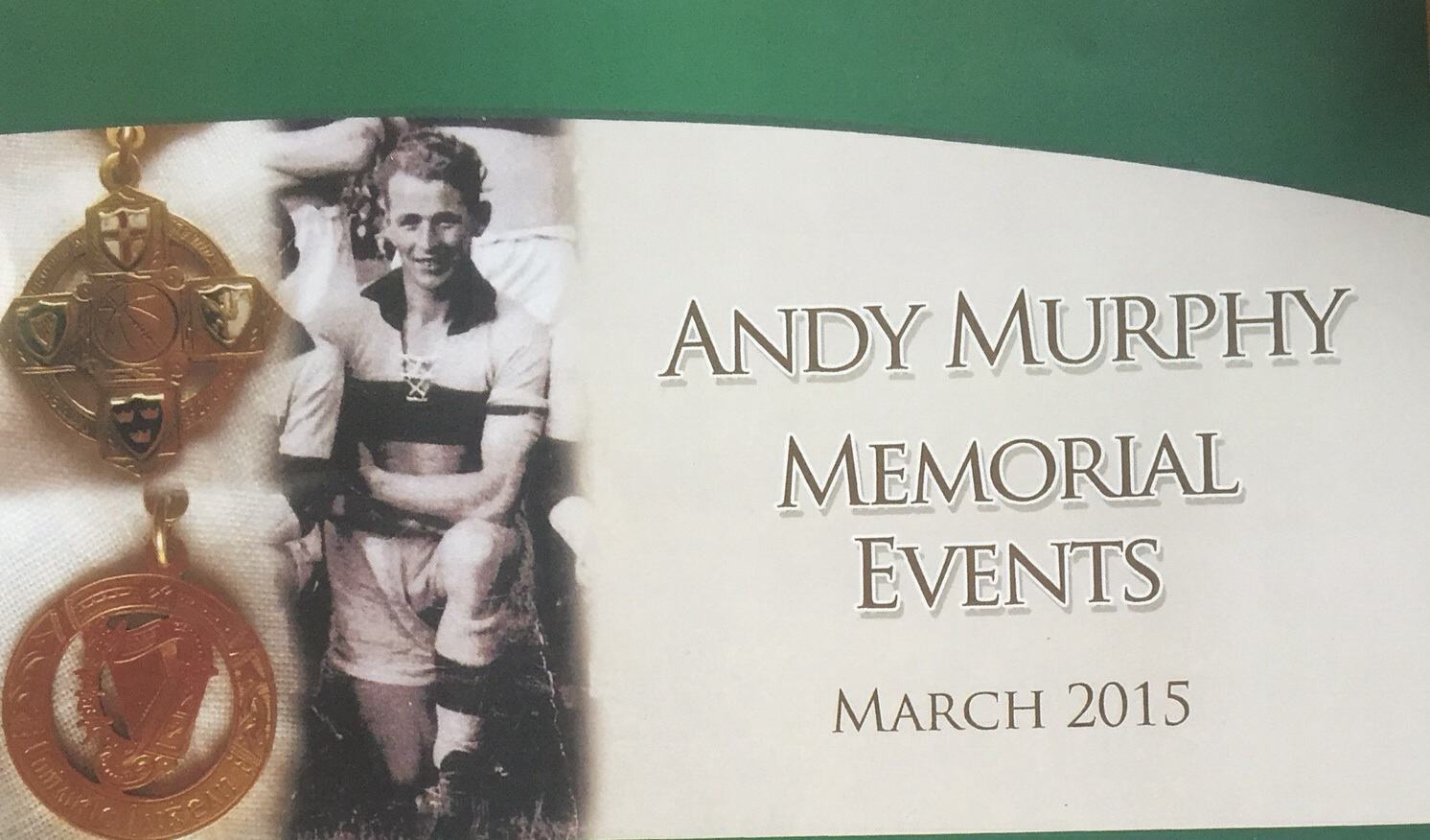Andy murphy schedule of events
