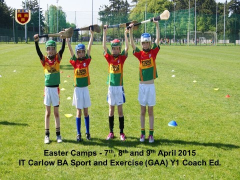 Easter Camp in conjunction with I.T. Carlow