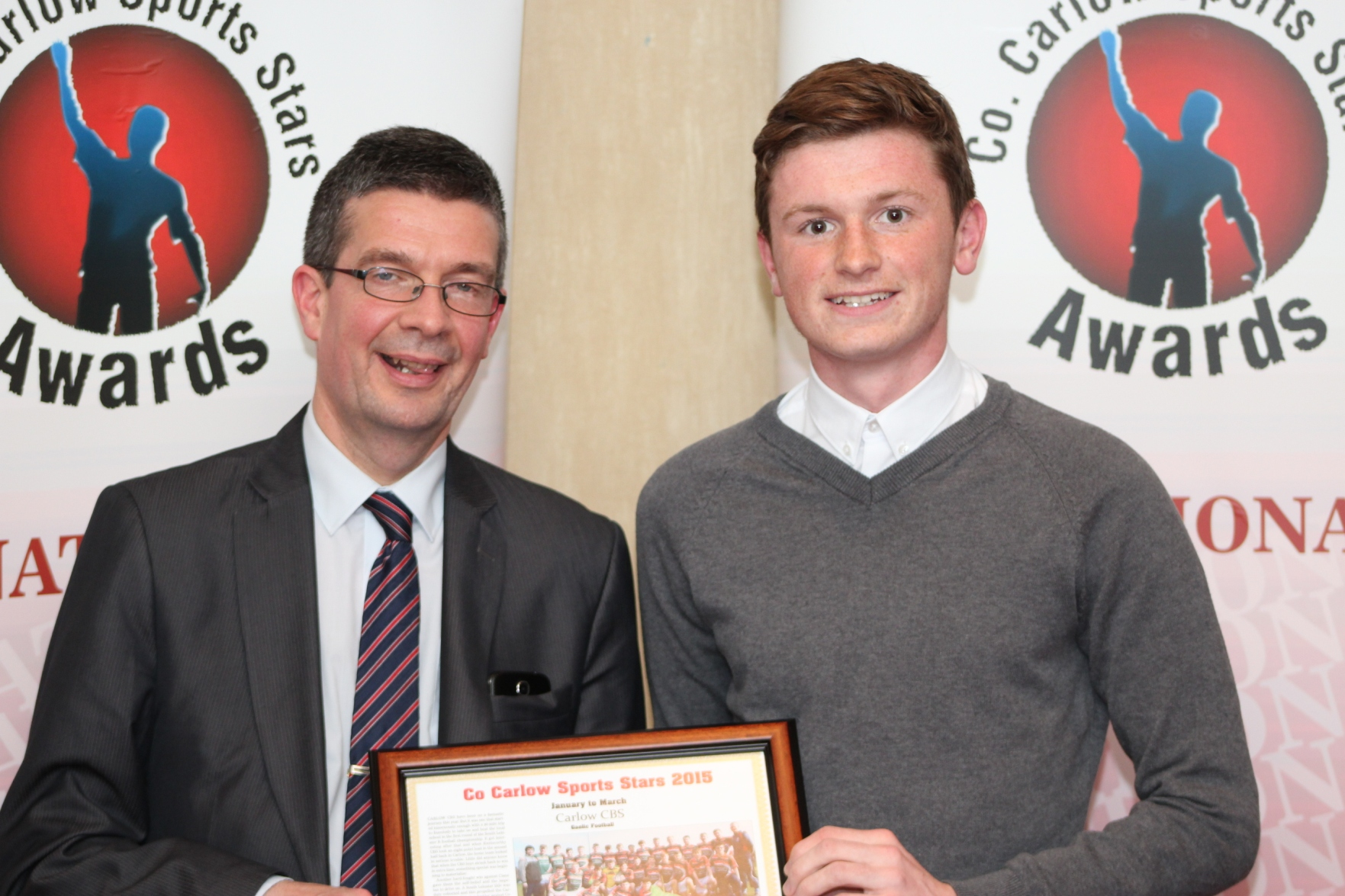 Carlow GAA Stars Rewarded at Co Carlow Sports Stars Awards