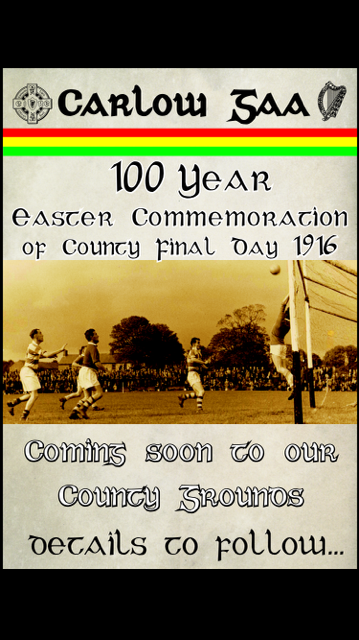 1916 COMMEMORATIVE rECREATION OF COUNTY FINAL DAYs