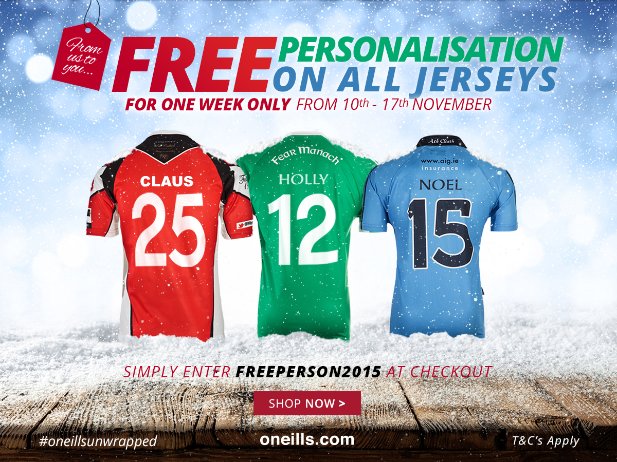 GREAT OFFER FROM OUR PARTNERS O'NEILLS