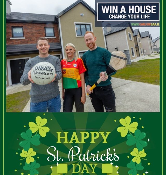 St. Patrick's Day House Bonus Draw Winner !