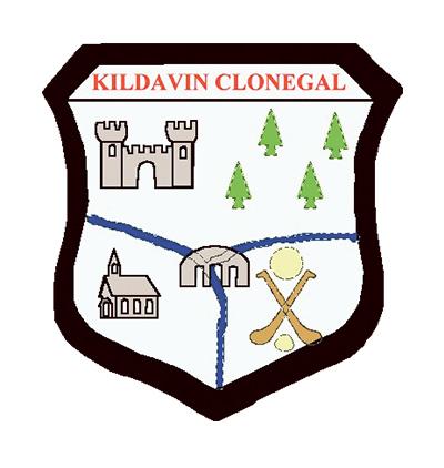 Kildavin Clonegal Crest
