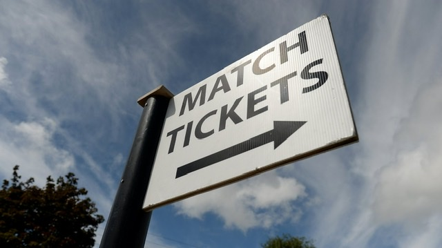 Match Tickets On Sale