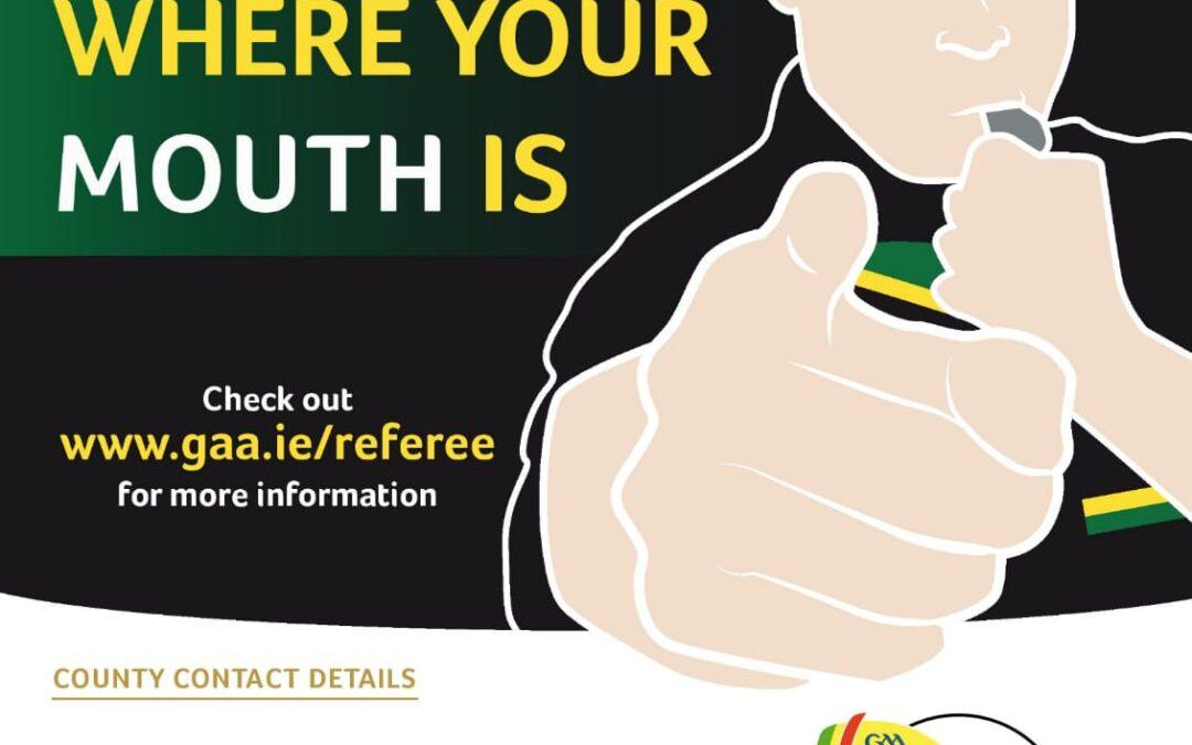 Referees Needed !!